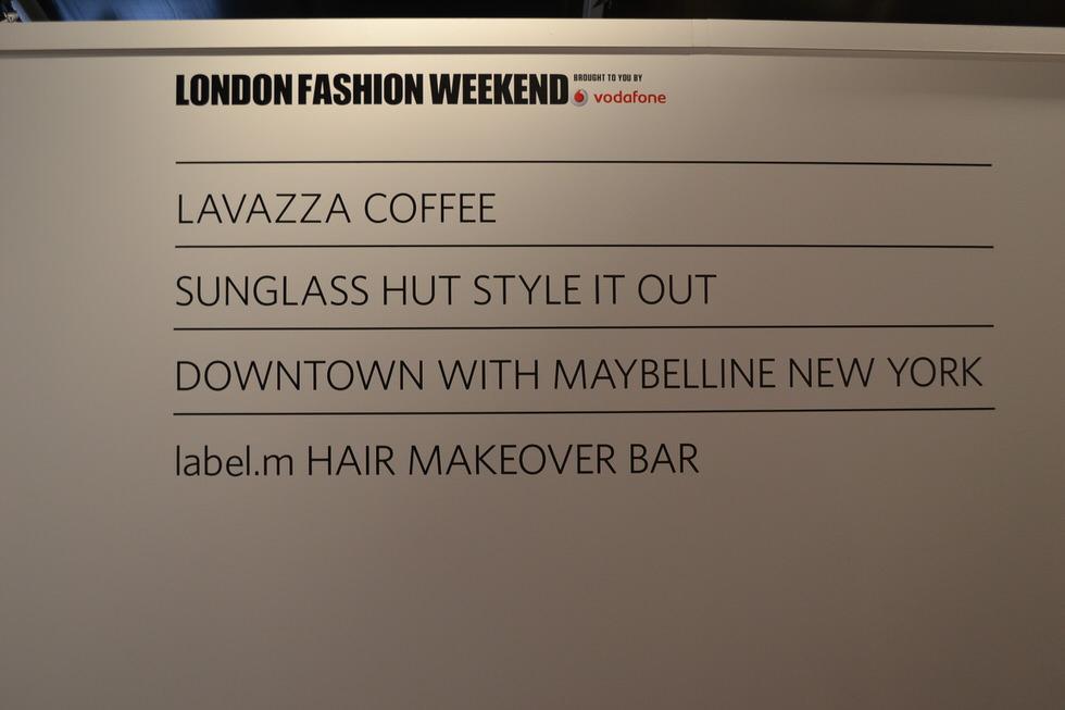 London Fashion Week Luxe