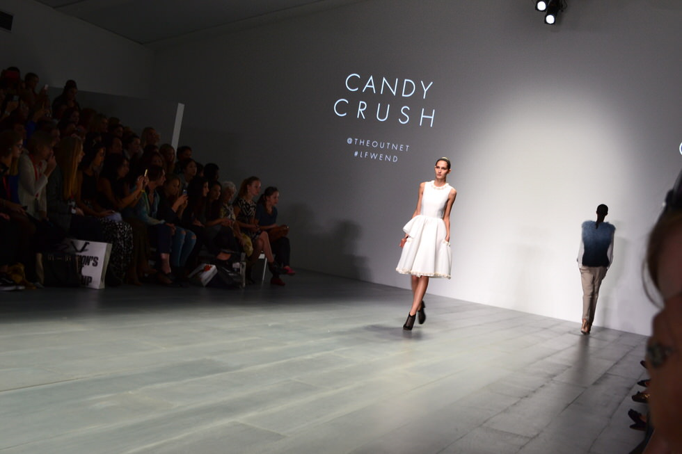 London Fashion Week - Candy Crush Collection