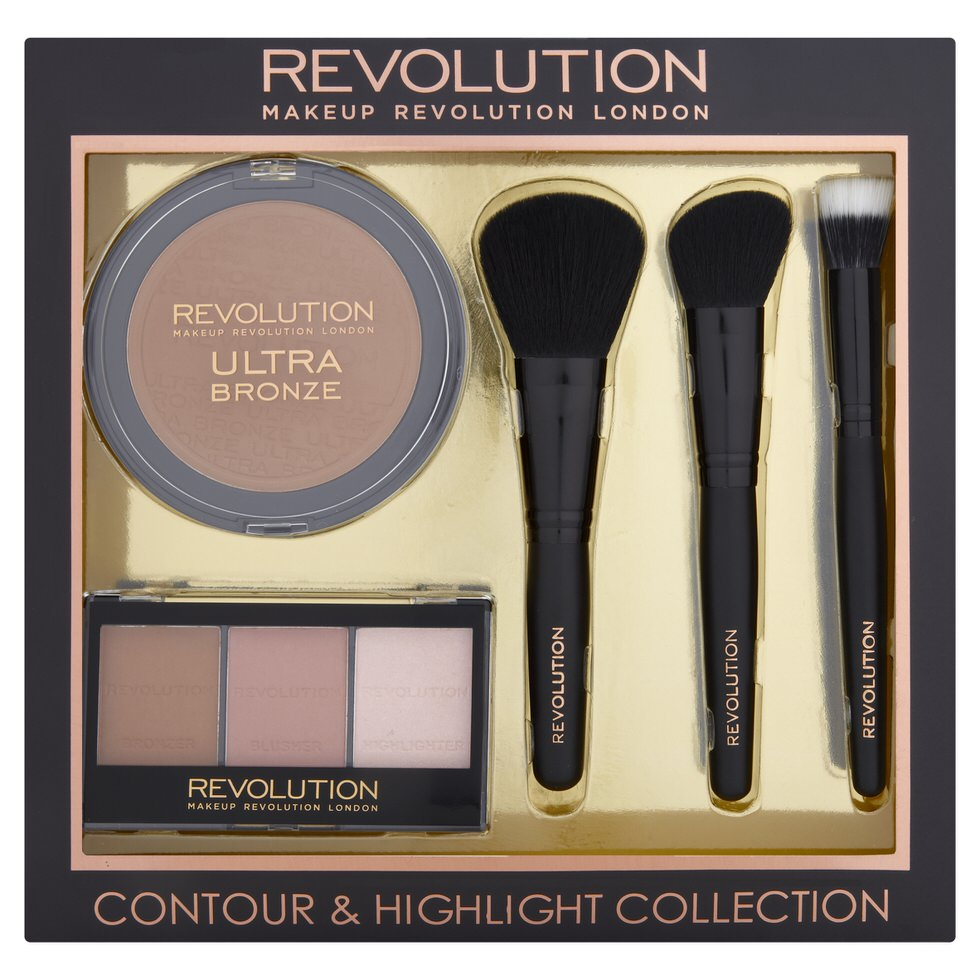 Make Up Revolution Ultra Bronze, Contour and Highlight