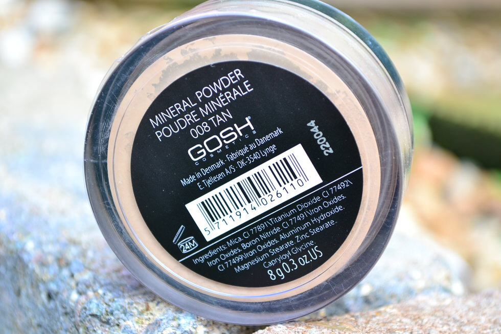 GOSH Mineral Powder Review