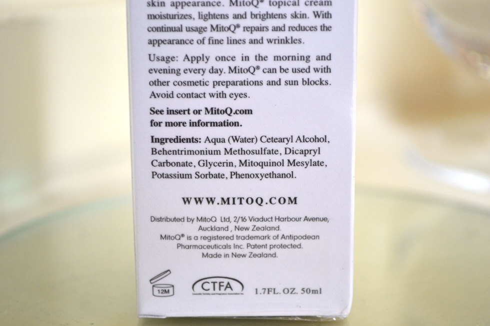 MitoQ Serum Review