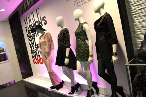 Vogue Fashion Night Out London – House of Fraser