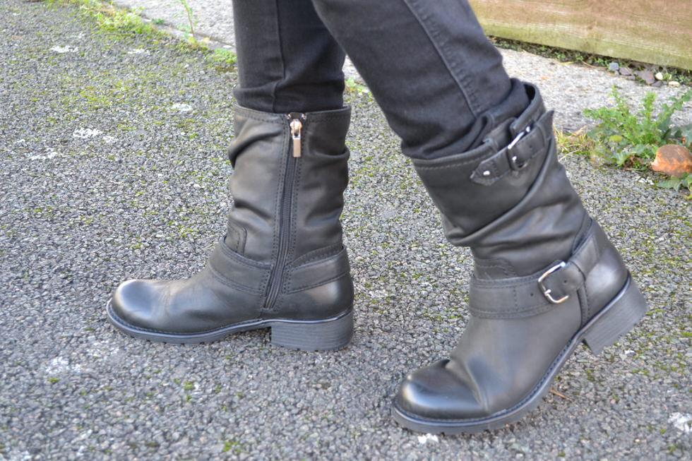 Biker Boots - Clarks Orinocco Jive Boots Black