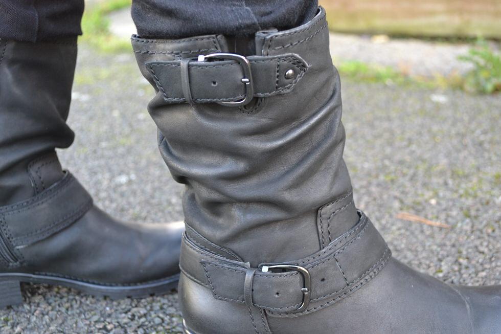 Biker Boots - Buckle Detail - Clarks