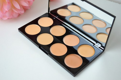 Makeup Revolution Cover and Conceal Palette Review: Light Medium