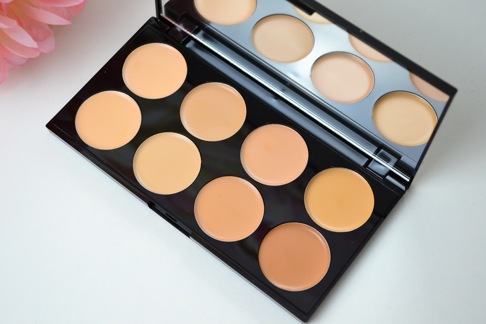 Makeup Revolution Concealer Palette Review
