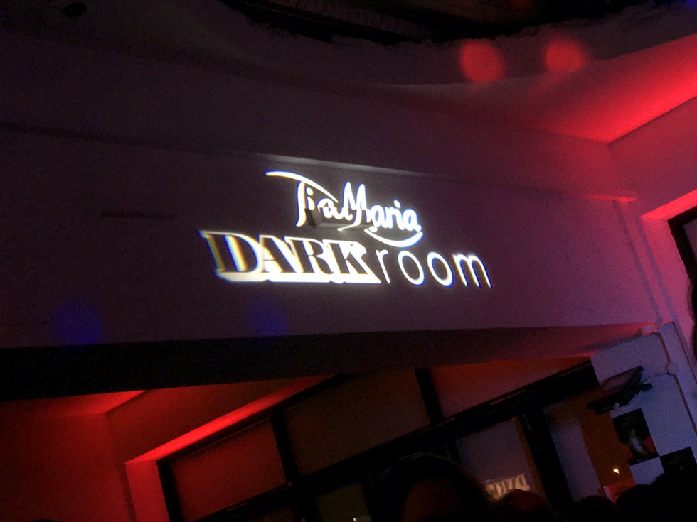 Tia Maria Dark Room - London Event
