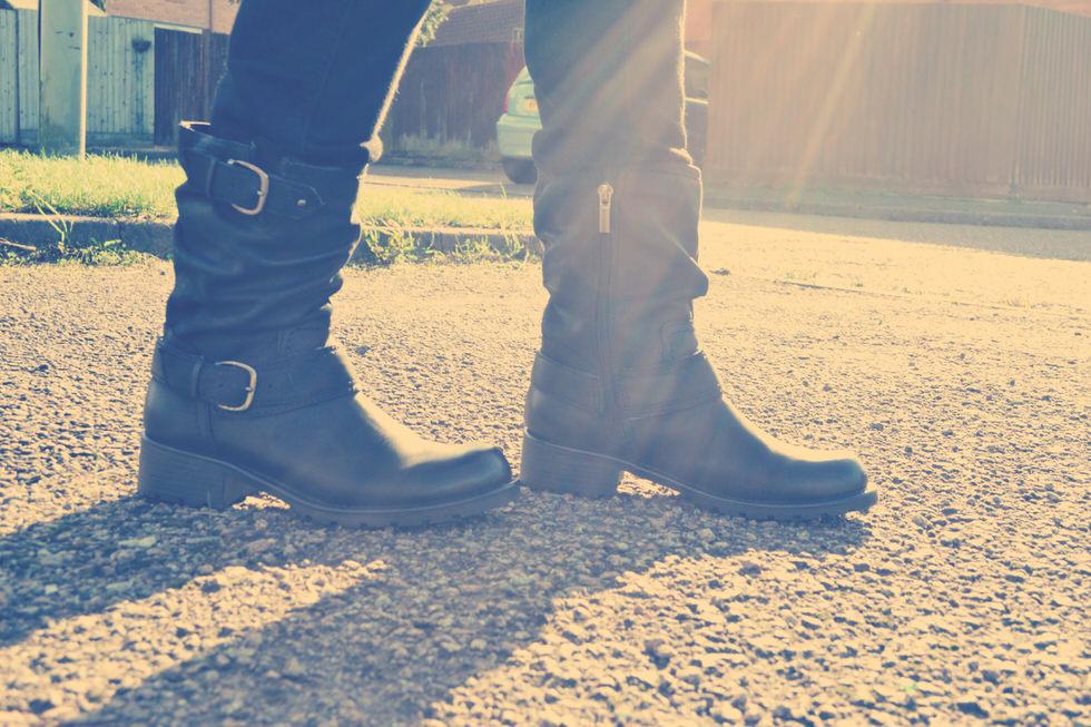 Biker Boots - Clarks Orinocco Jive Boots