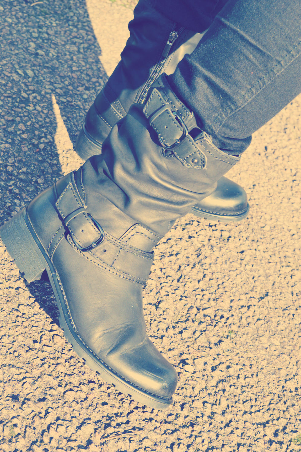 Biker Boots - Orinocco Jive boots