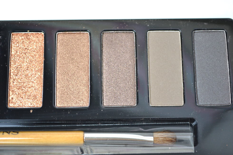 Clarins ' The Essentials' Eye makeup palette - christmas makeup - beauty blogger