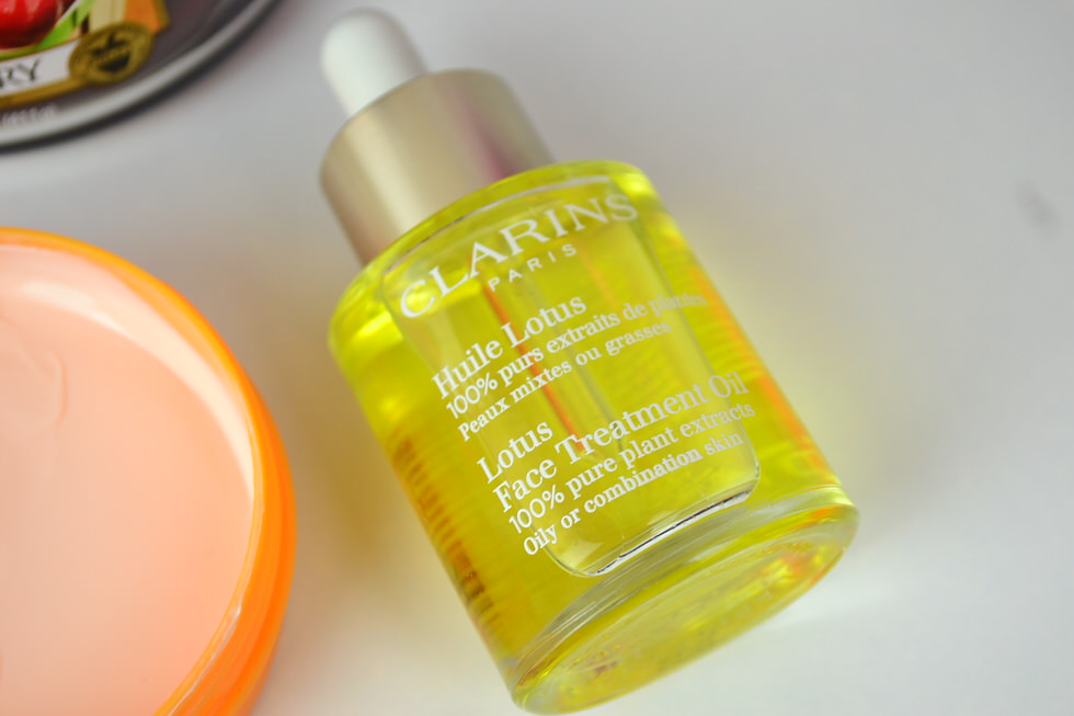 Winter Skincare - Clarins Face Oil