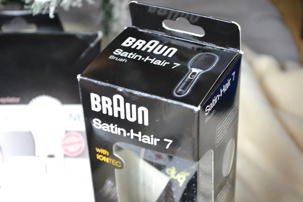 Braun Satin Hair 7 - Christmas Gifts