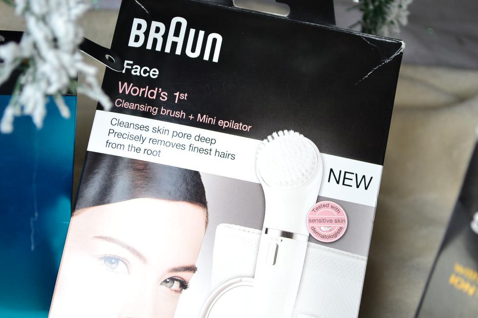 Christmas - Braun Face Cleansing Brush & Epilator
