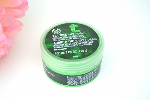 The Body Shop – Tea Tree Face Mask