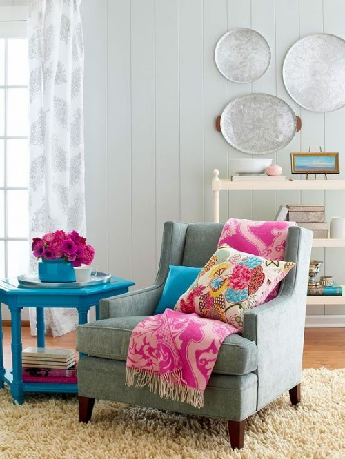 Add a touch of colour to your home