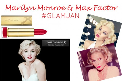 Max Factor Announces Marilyn Monroe As Global Ambassador #GlamJan