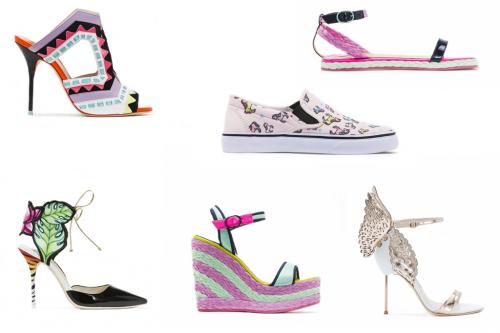 Rainbow Shoes: Sophia Webster 2015