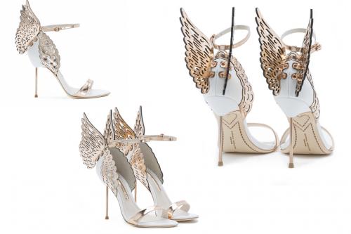 Sophia Webster: Angel Shoes-Evangeline