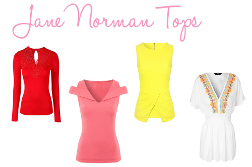 TBT: Jane Norman Tops