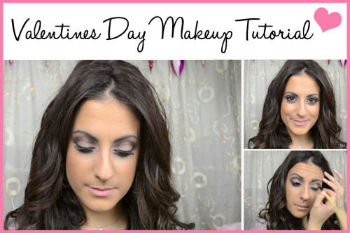 Valentines Day Makeup Tutorial 2015