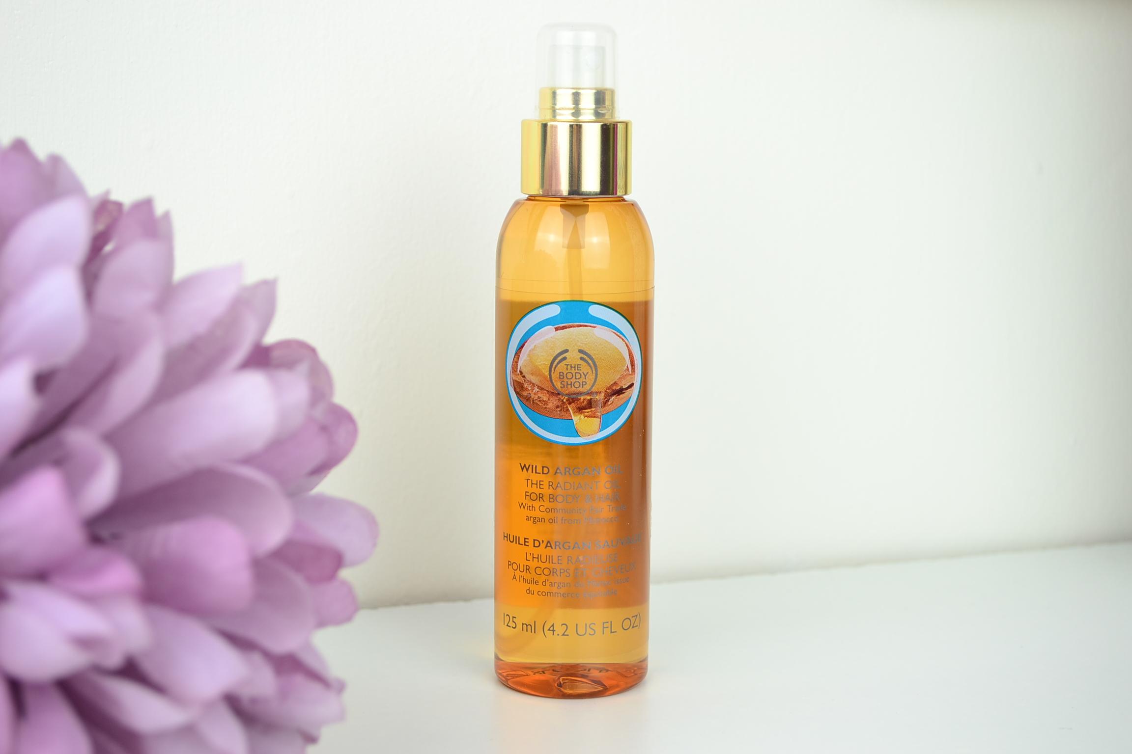 the body shop wild argan radiant oil