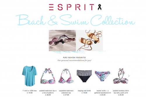 Esprit Swim and Beach Collection 2015