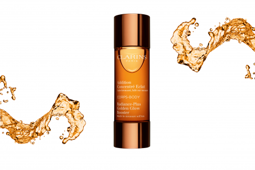 Clarins Radiance Body Golden Glow Booster