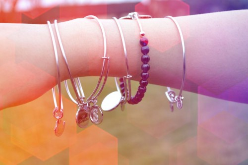 Stacked Bracelets and Rings