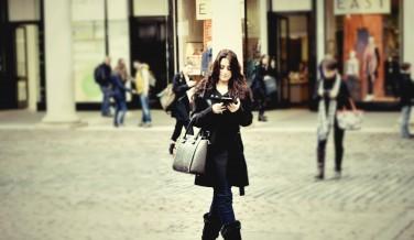 Black Coat and Blue Jeans Fashion Blog
