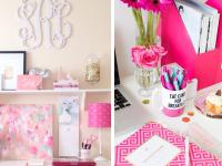 pretty office ideas