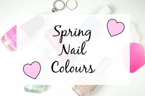Spring Nail Colours 2015