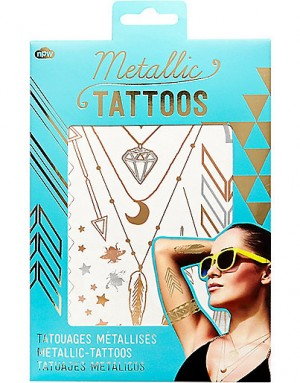 metallic-gold-temporary-tattoos