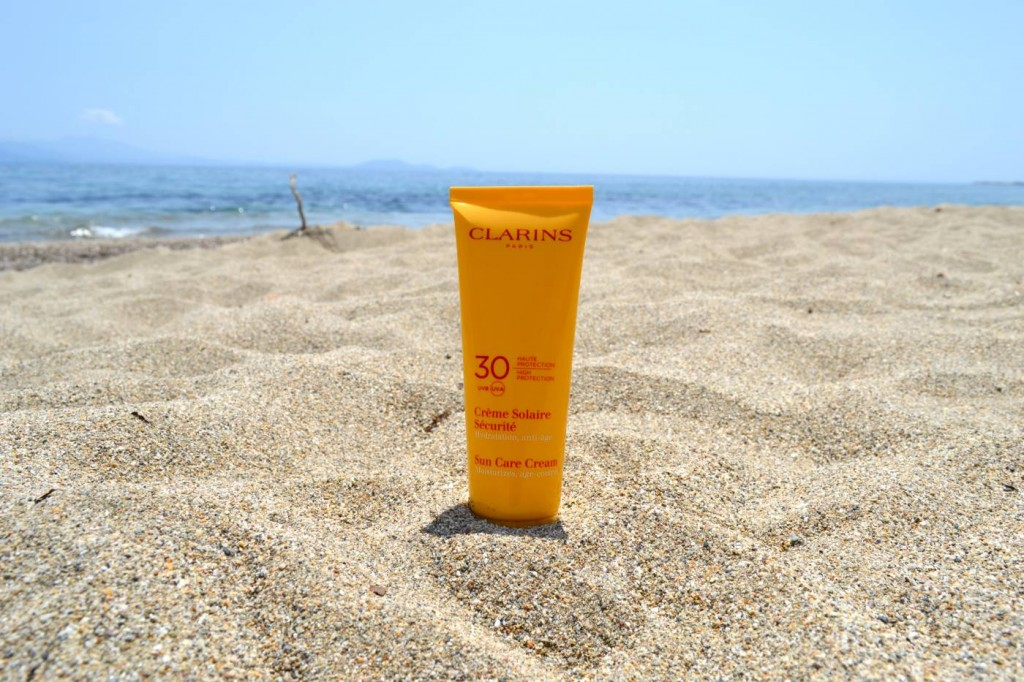 clarins sun care products