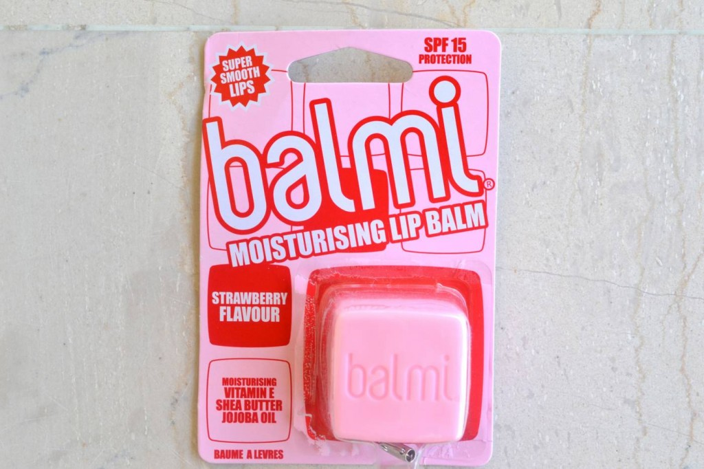strawberry balmi lip balm