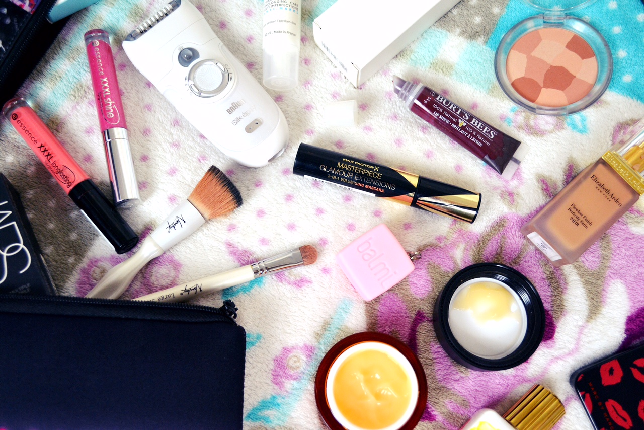pack your skincare for travel