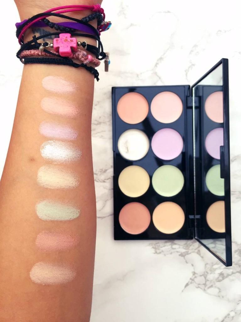 makeup-revolution-ultra-base-corrector-swatches