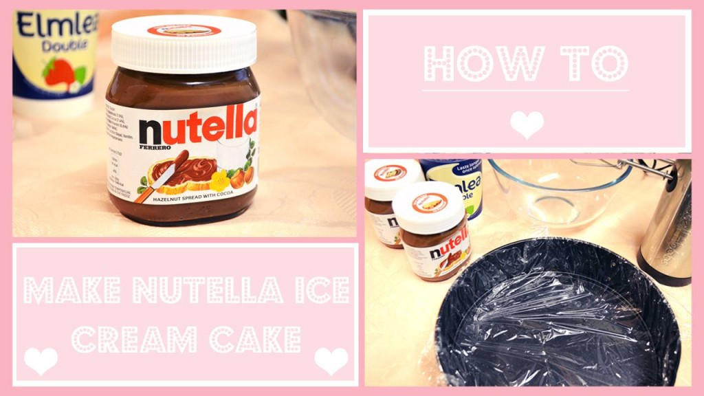 howtomakenutellaicecreamcake