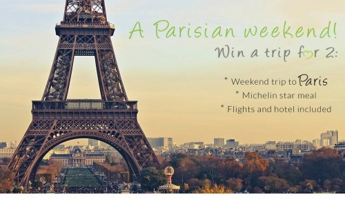 Win a perfect weekend in Paris! (Really!!)