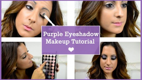 Purple Eyeshadow Makeup Tutorial