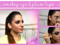 autumn-makeup-smokey-eye-plum-lips