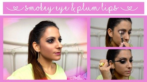 Autumn Makeup: Smokey Eye & Plum Lips