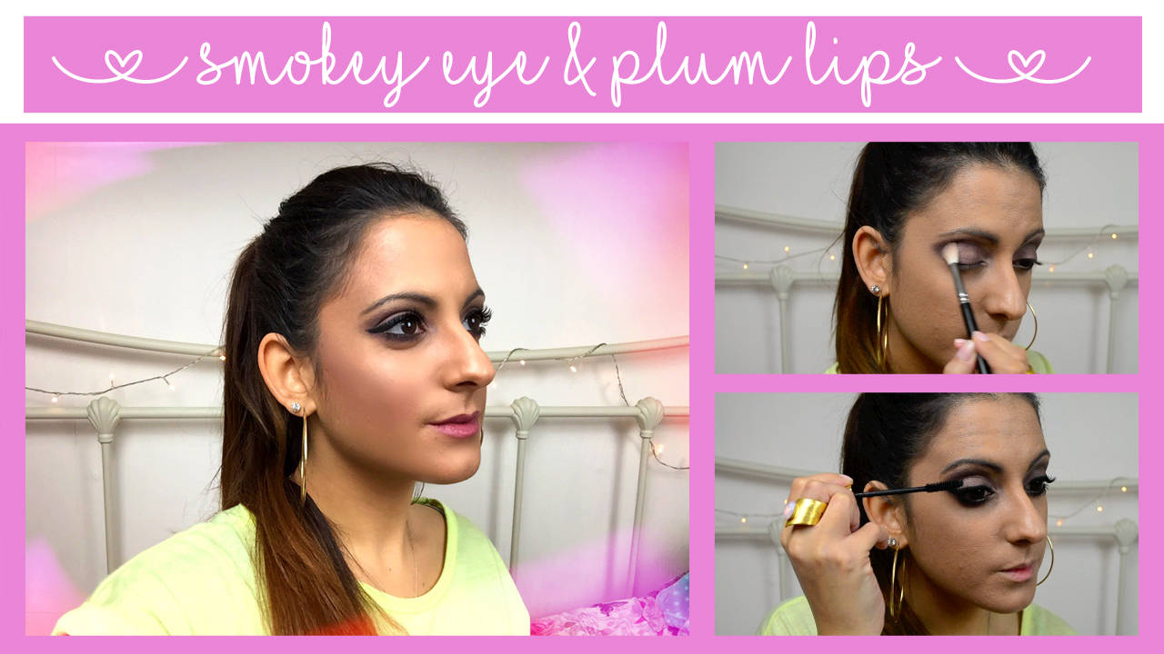 autumn-makeup-smokey-eye-plum-lips