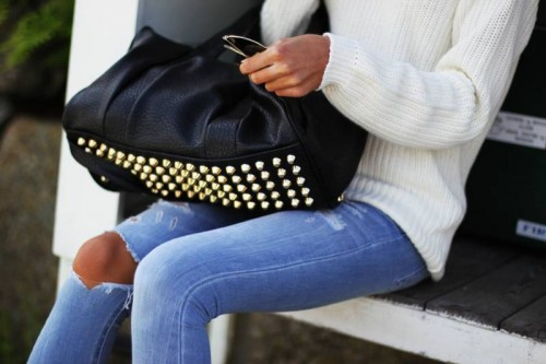 The Studded Handbag You NEED!