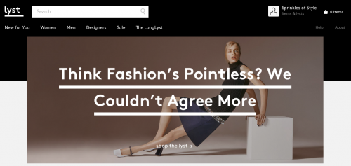 Lyst – Your World of Fashion