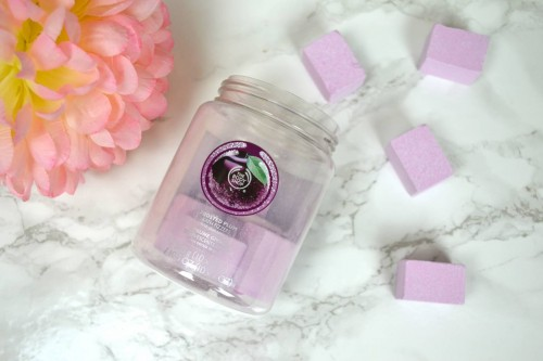 The Body Shop Frosted Plum Bath Fizzers