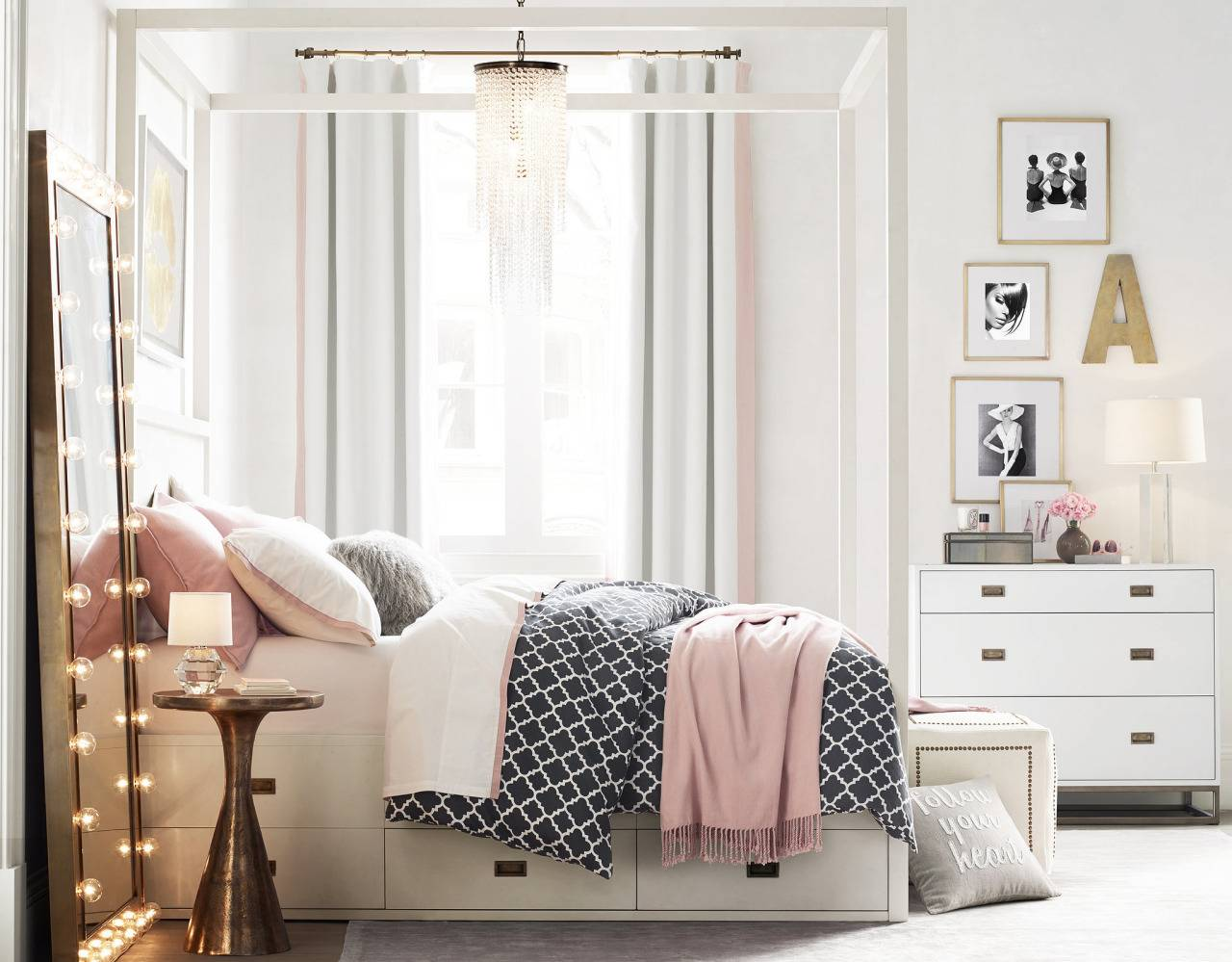 How to make your bedroom feel cozy sprinkles of style for Cute bedroom accessories