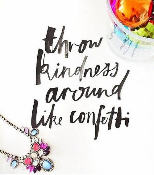Motivation Monday: Be Kind