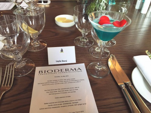 Bioderma Hydrabio Mist UK Launch Event