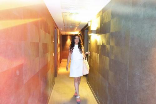 White Dress in Monaco