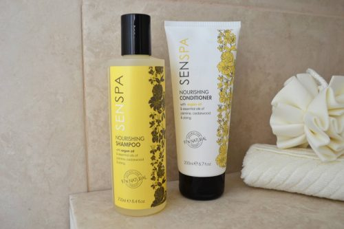 Senspa Nourishing Shampoo and Conditioner